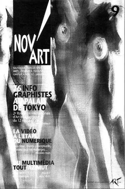 NovART- capa - Dulce Araujo Novembro 1992