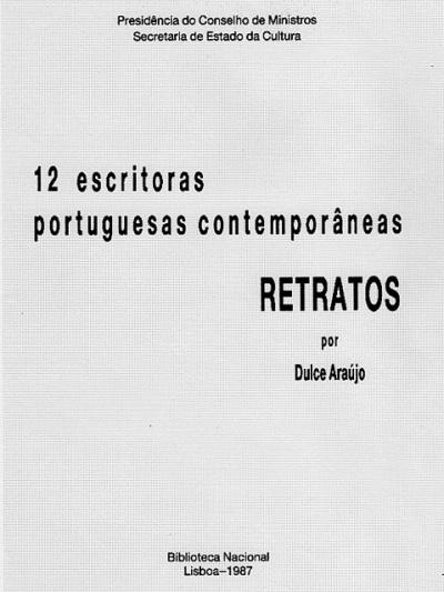 Dulce Araújo - Exposição 12 Escritoras Portuguesas - Biblioteca Nacional de Lisboa