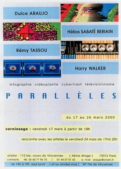 Exposição Parallèles - Dulce Araújo