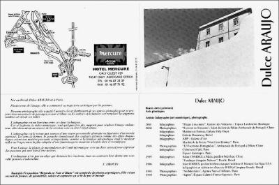 Dulce Araújo - Exposição Hotel Mercure