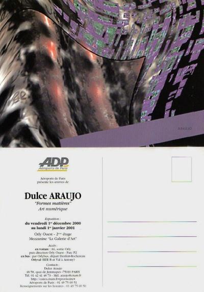 Dulce Araújo - Exposição infographie ADP