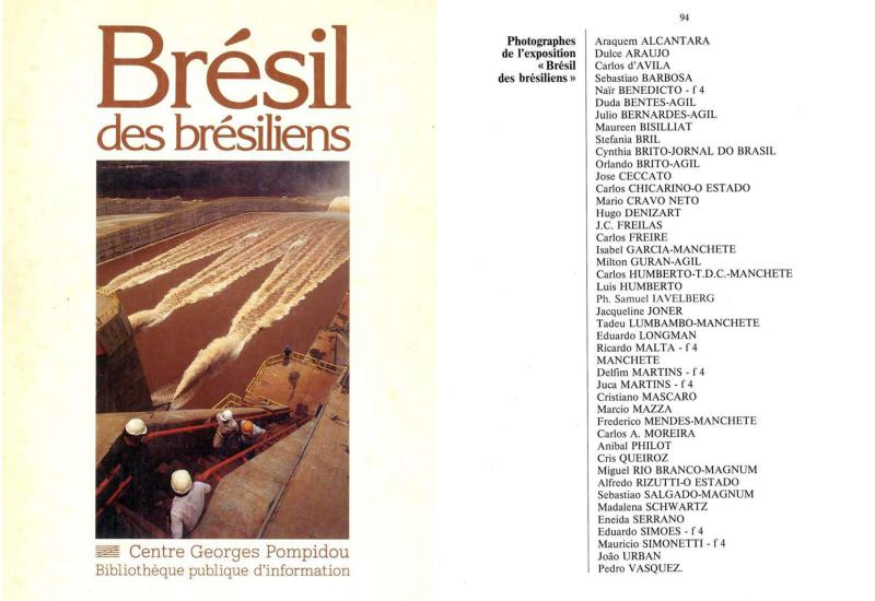 """""""Brésil des brésiliens"""", Centre Georges Pompidou. Paris. França"""