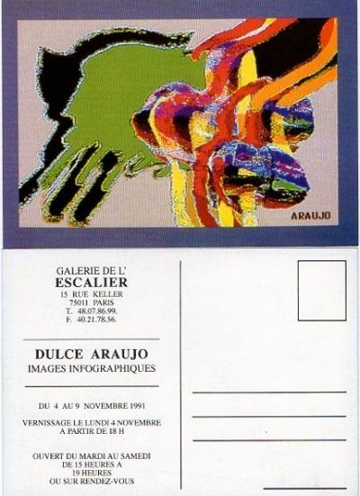 Dulce Araújo - Galerie de L-Escalier