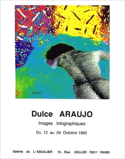 Dulce Araújo - Exposição Galerie de l'Escalier