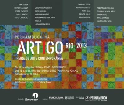 Dumaresq Galeria - Pernambuco na Artigo Rio - Dulce Araújo