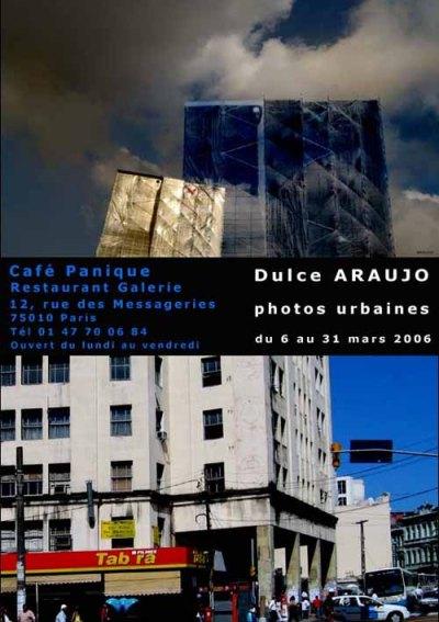Exposição Photos Urbaines - Café Panique - Dulce Araújo