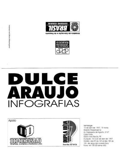 Dulce Araújo - Exposição Fundação Joaquim Nabuco